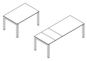 Meccanismi per Tavoli Allungabili Ponte Gamba | Evomet S.r.l.