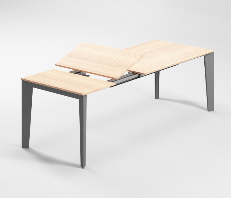 Meccanismi tavoli allungabili in alluminio