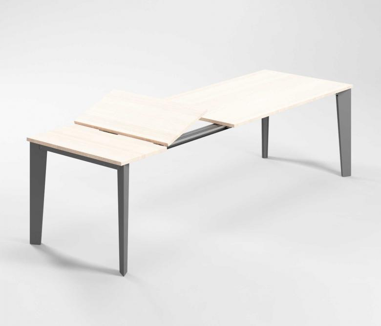 Meccanismi tavoli allungabili dall'altezza ridotta