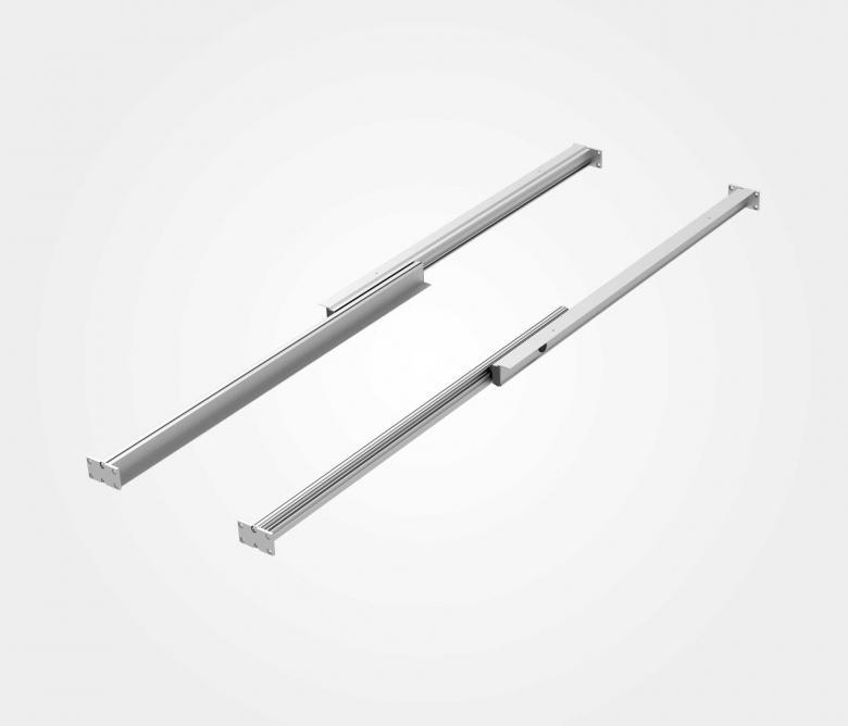 Meccanismi per tavoli allungabili in alluminio