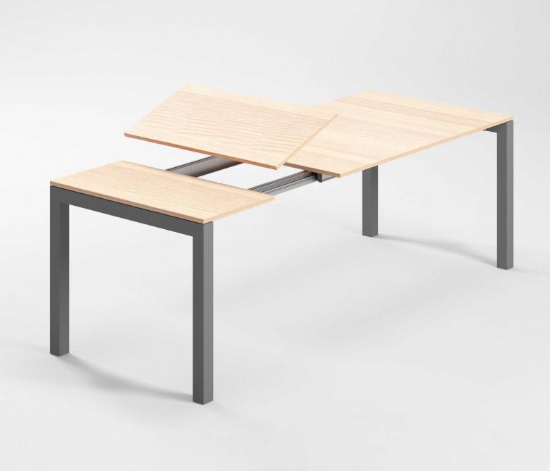 Meccanismi tavoli allungabili con aggancio rapido