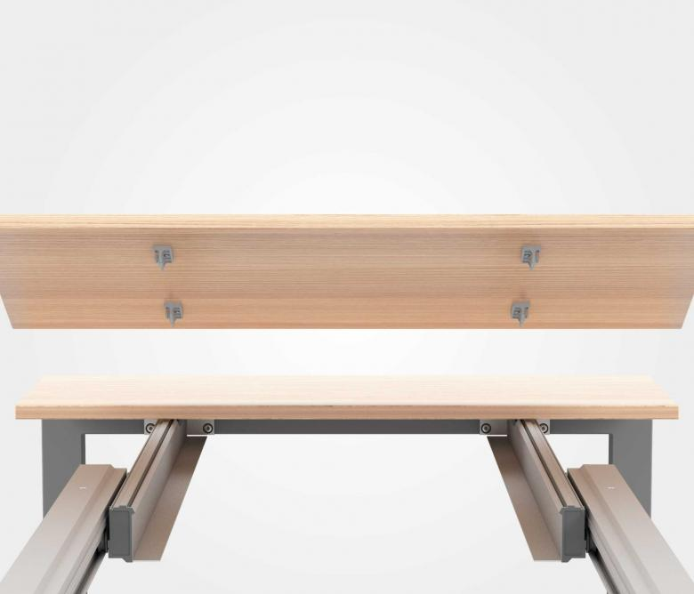 Meccanismi per tavoli ad alta portata