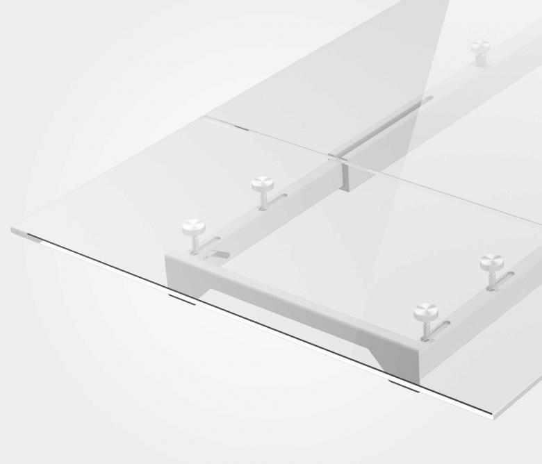 Telaio per tavoli allungabili con apertura semplificata